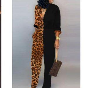 Leopard jumpsuit BRAND NEW
